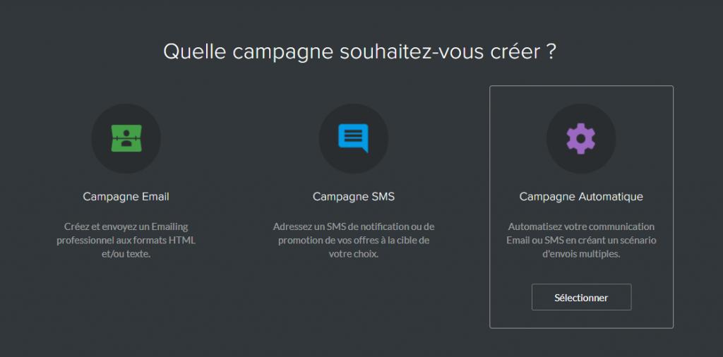 logiciel emailing campagne